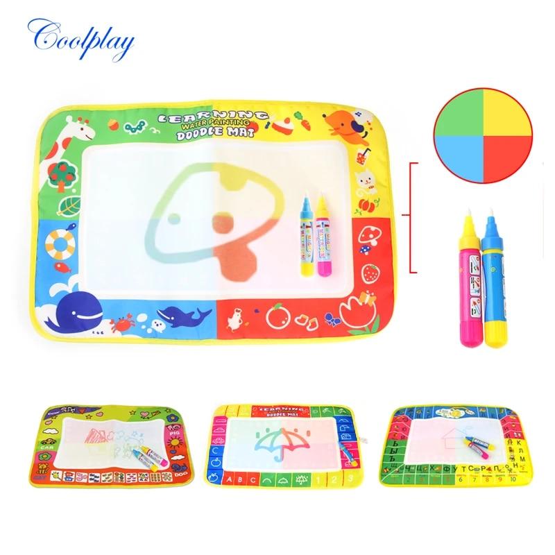bebe enfants eau coloriage tapis stylo magique doodle peinture planche a dessin jouer tapis tableau russe enfants cadeau educatif