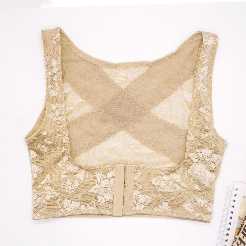Back Posture Corrector for Women Chest Brace Up Prevent Humpback Breathable Lace Vest Corset DC88 in Braces Supports from Beauty Health