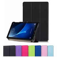 Slim Magnetic Folding Flip PU Leather Stand Smart Cover For Samsung Galaxy Tab A 10 1