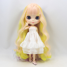 Factory Neo Blythe Doll Dreamy Colorful Hair Jointed Body 30cm