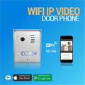 WIFI IP VIDEO DOOR PHONE Aluminum Alloy of Silver color Two way communication with android/iOS smart phone and video recording