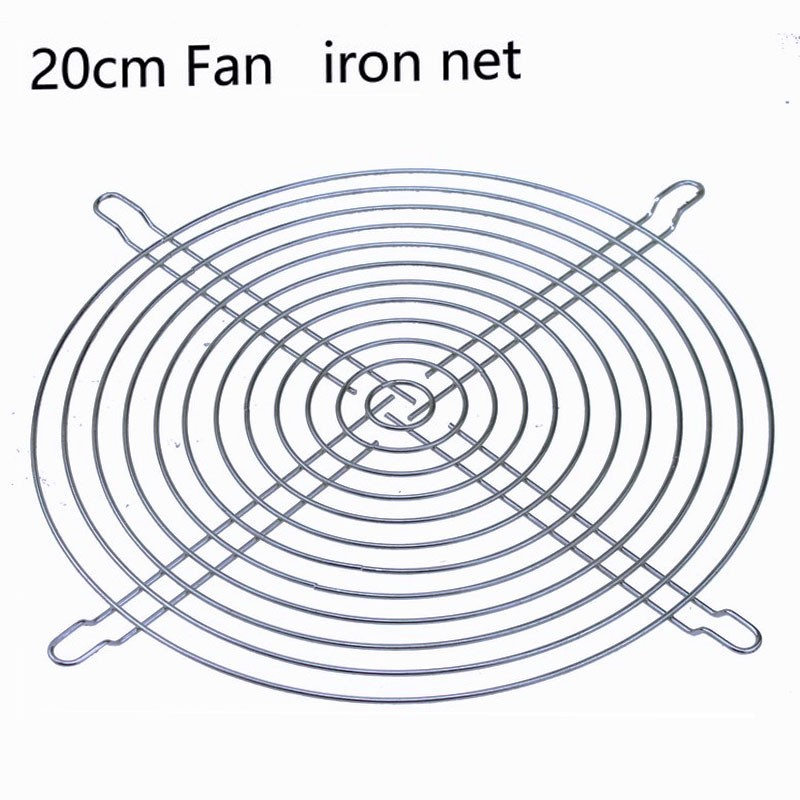 5pcs Gdstime 20cm 200mm Fan Grill Stainless Steel Guard Protector Cover AC Fan Filter 200x200mm