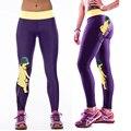 Personalidade mulheres sportswear ginásio de treino de fitness yoga calças skinny de cintura alta elástico esticar execução collants leggings esportivos