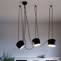 Nordic contracted DIY creative pendant lights Restaurant cafe modern pendant light Contain LED bulb Free shipping