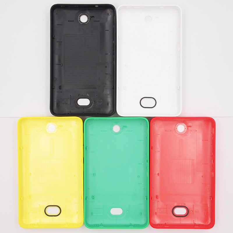 sports shoes ecbc3 58f9b BaanSam New Colorful Battery Back Cover For Nokia Asha 501 Housing Case  With Power Volume Buttons