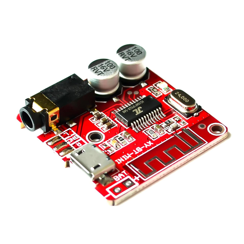 10 шт./лот плата аудиоприемника Bluetooth 4,1 mp3 декодер без потери качества, плата, беспроводной стерео музыкальный модуль
