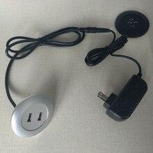 Accessori Per mobili reclinabile Moderna Divano Letto Poltrona Chaise Salotto tavolino 2 Porte USB Charger parti di casa intelligente