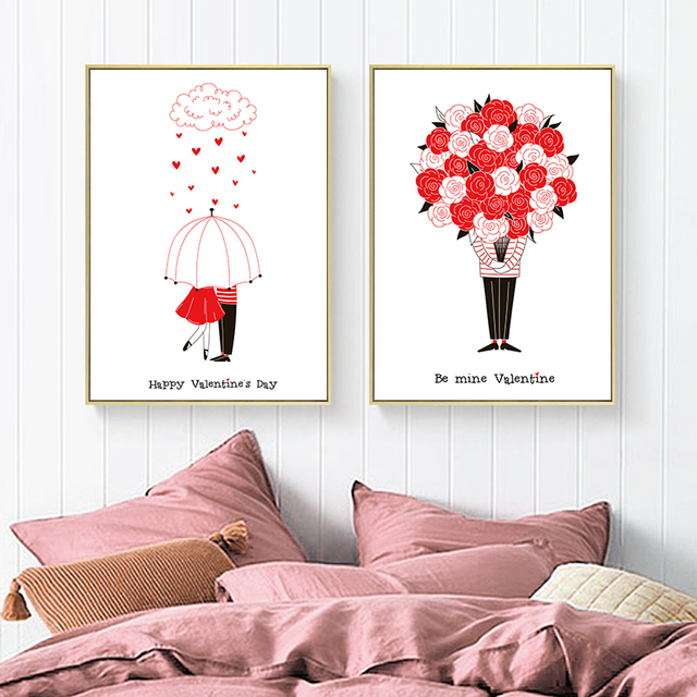 Valentine's day confession Present Gift Posters 1