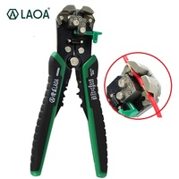 LAOA Automatic Wire Stripper Tools Professional Electrical Automatic Cable Stripping Wire Cutter Tools for Electrician Crimping