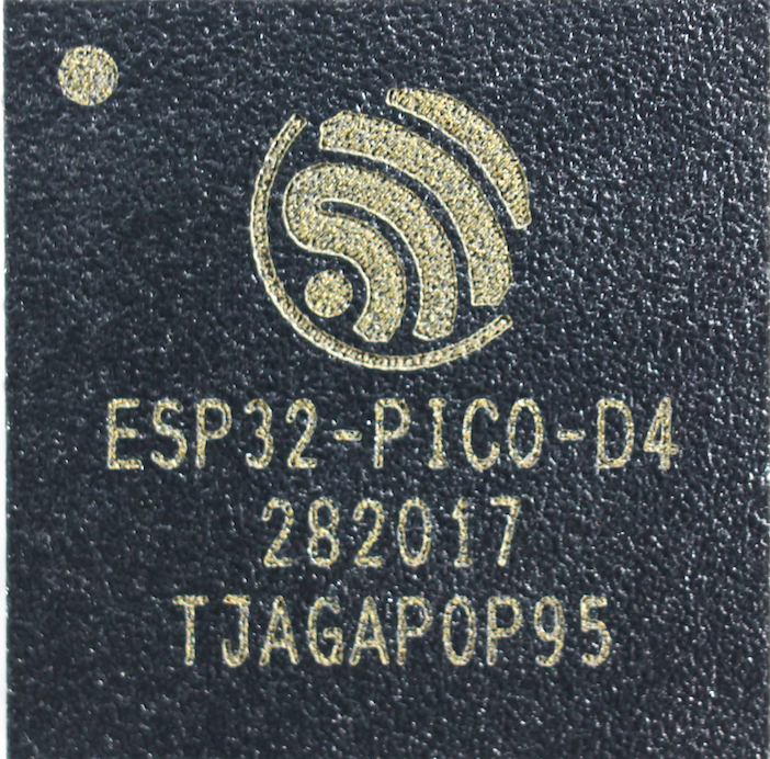 <font><b>ESP32</b></font>-<font><b>PICO</b></font>-<font><b>D4</b></font> <font><b>ESP32</b></font> Series Chip SiP Module with 4MB Flash Dual-core MCU Wi-Fi image