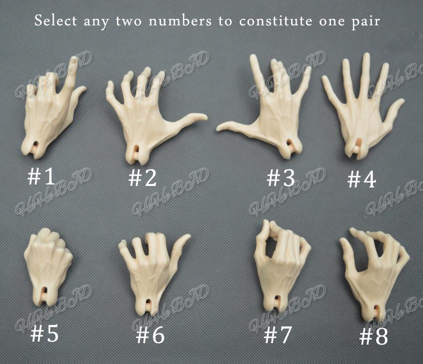 Venitu hand HeHe BJD SD 1 3 male dolls hand veins free shipping