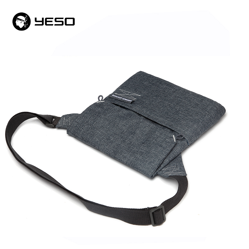 YESO Business Casual Shoulder Bags Unisex Waterproof Oxford Men's Crossbody Bag Fashion Multifunction Lightweight Shoulder Bags