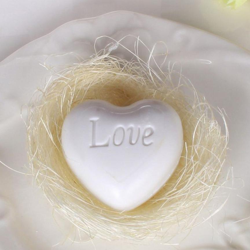 Fashion Novelty Handmade Maple Leaf Design Bathr Soap Wedding Party Valentine Love Gift Dewaxing Bath & Shower