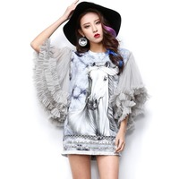 New 2014 Spring Autumn White Shirt Women Cardigan Casual Long Sleeve Tops Ladies Black Woolen Vest