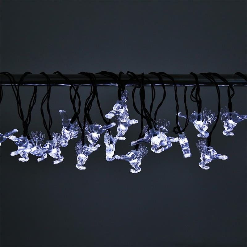 Aliexpress Etonteck Solar Led Fairy String Light Waterproof 20 Fawn Lamp Lights Outdoor Garden Christmas Decoration Lighting From