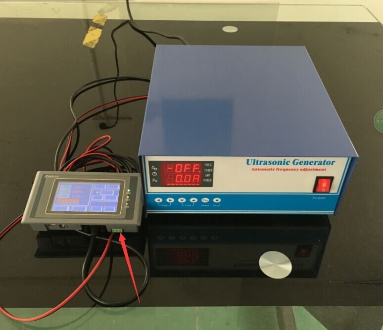 3000W RS485 Network Ultrasonic cleaning Generator,CE and FCC