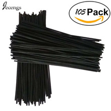 105 Premium Black Rattan Reed Fragrance Diffuser Replacement Refill Sticks 300mm *3.5MM