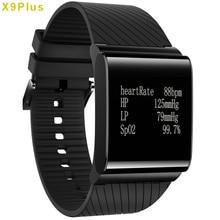 X9 Más Inteligente Reloj de Negocio de Los Hombres de Gimnasio Rastreador Smartwatch para Android ios con Frecuencia Cardíaca/Sangre/Sangre/Sangre Monitor de oxígeno