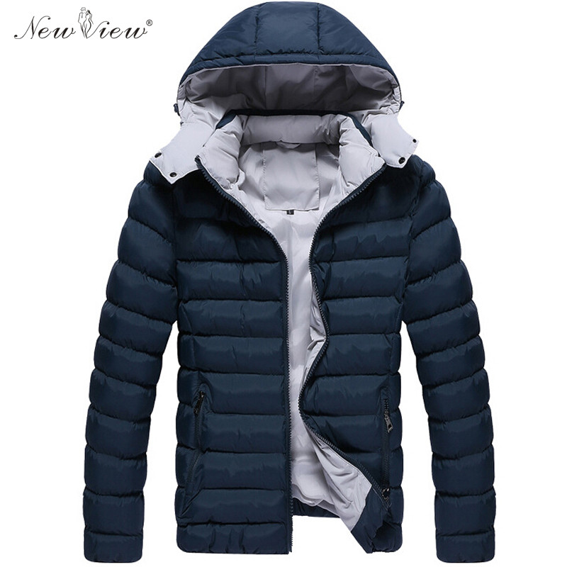 2017 Men Winter Coat Thick Warm Cotton Padded Casual Jacket Men Feather Hoodies Overcoat Plus Size Parka Male Jaqueta Masculina new 2017 men winter black jacket parka warm coat with hood mens cotton padded jackets coats jaqueta masculina plus size nswt015