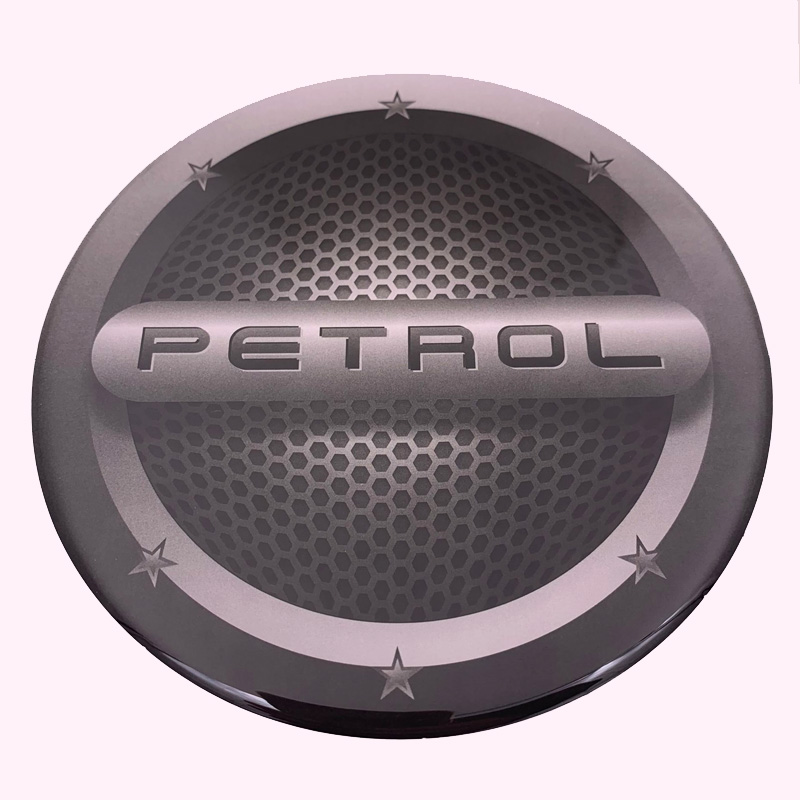 Diesel Petrol Car Fuel Tank Cap Sticker Resin Gel Material Decorative  Decal