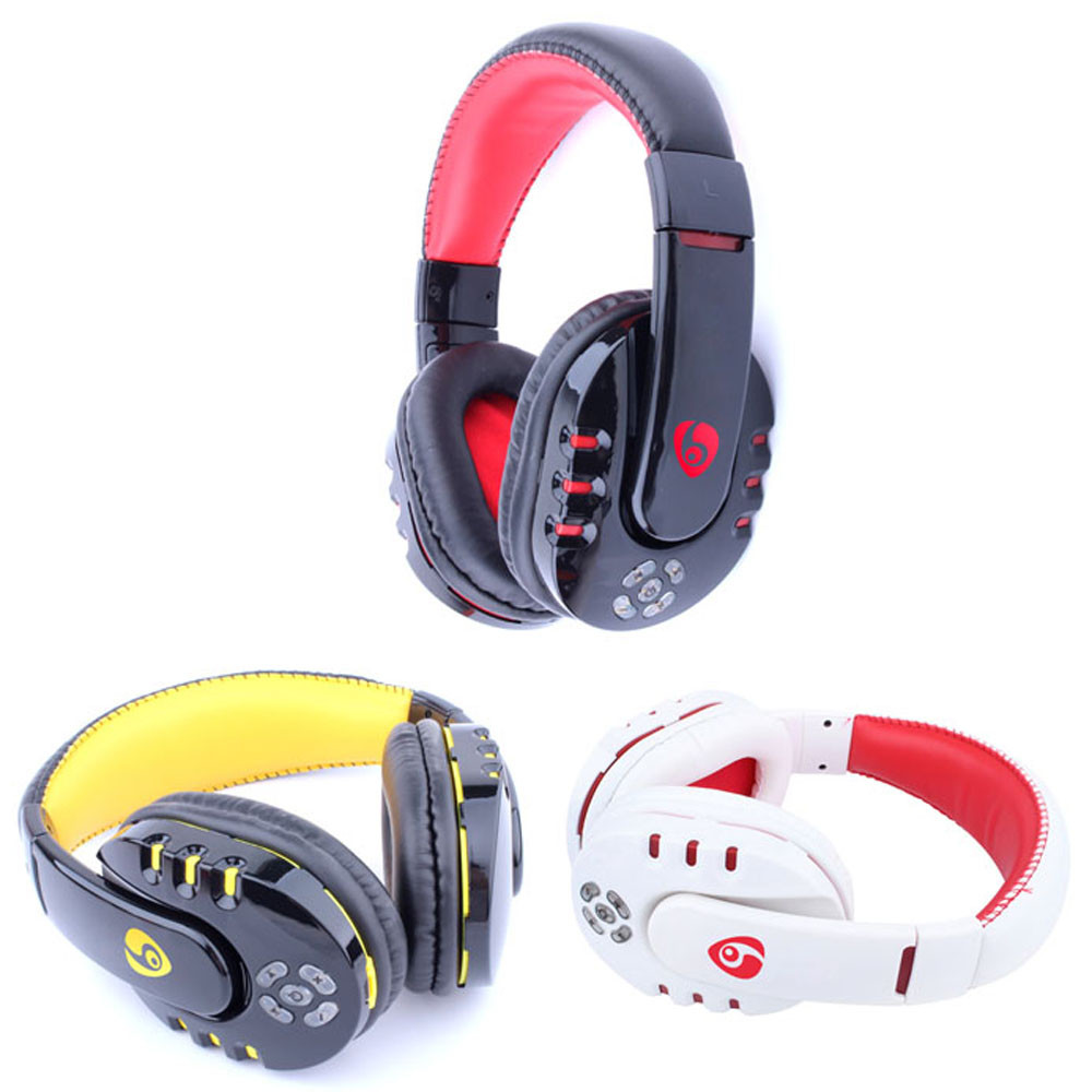 MALLOOM Wireless Bluetooth Stereo Gaming Headset Earphone Headphone Sport Tactical Game Headset For Phone iPad PC MP3 PC Laptop