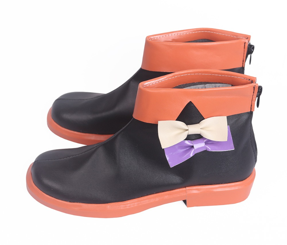 Vocaloid Miku Hatsune Halloween Boots Cosplay (4)