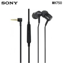 100% Original SONY MH750 in Ear earphone BASS Subwoofer xperia series earbuds for sony Z 1 2 3 xiaomi huawei samsung(China)