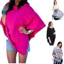 Fashion nursing cover cape for feeding scarf newborn Breastfeeding cover baby car seat cover
