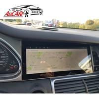 Оптовая продажа Android 10,25 Автомобильный мультимедийный для Audi Q7 Автомобильный dvd плеер на основе Android 2005 2015 Восьмиядерный радио с Bluetooth и GPS wifi