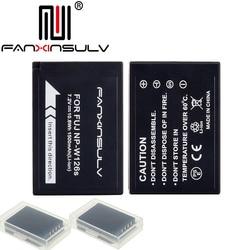 2x NP-W126S NP W126S Batterij + 2 Batterij doos voor Fujifilm Fuji XT3 XA5 XT20 XT2 XT1 XH1 XT10 XE3 x100F SCHIP MET TRACKING NUMMER