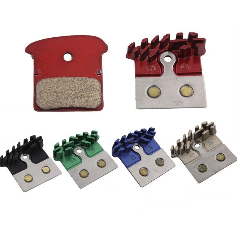 Meilleure dissipation thermique vtt vélo plaquettes de frein à disque pour SHIMANO M615 M675 M785 M985 M666 M8000 M988 M987 M9000 M9020 frein à disque