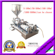 1000–5000ml double heads Cream Paste Tube Pneumtic Filling Machine GRIND