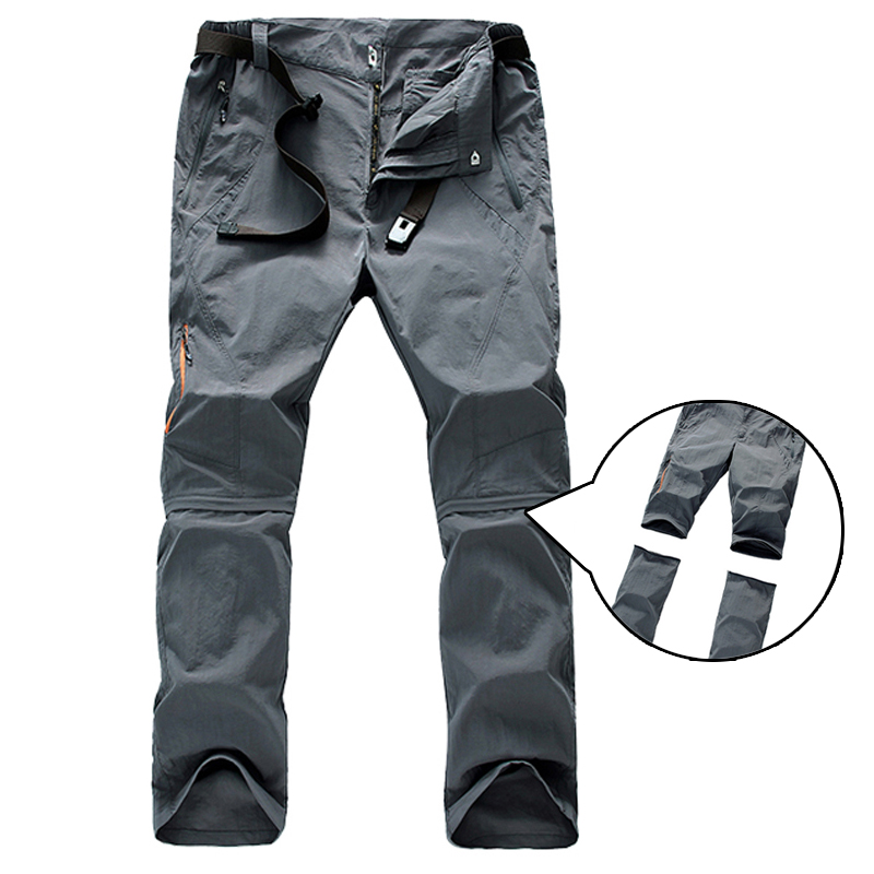 Summer Outdoor Sports Quick Dry Pants Men Camping Fishing ...