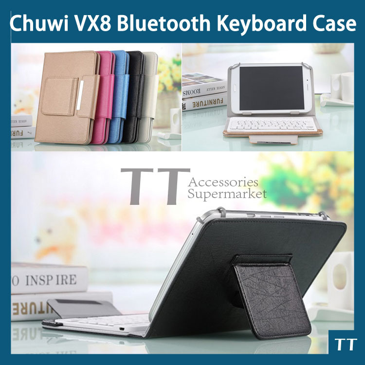Original Bluetooth Keyboard Case for chuwi VX8 Tablet PC,chuwi VX8 3G Bluetooth Keyboard Case + free 3 gifts 2016 touch panel bluetooth keyboard case for chuwi vi8 super tablet pc for chuwi vi8 super keyboard case for chuwi vi8 hdmi