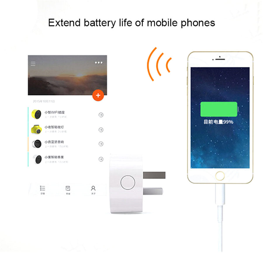 10A Wifi Smart US Plug Smart Timing Socket Wireless Outlet APP Remote Control For iPhone 5 Samsung Google Smart Home Automation
