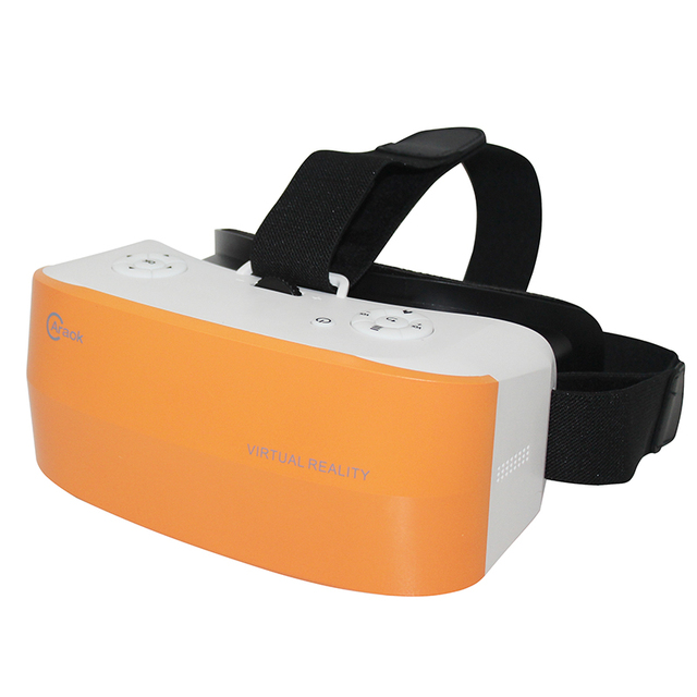 3D Glasses All in one VR Android 4.4 Quad Core Virtual Reality 5.5inch VR BOX Head-mounted Glasses 3D Game Movie Support TF Card