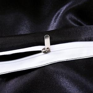 Image 2 - LOVINSUNSHINE Luxury Bed Linen Set Duvet Cover Single Comforter Bedding Sets King Size Silk AB04#