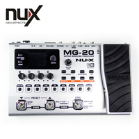 NUX MG 20 Guitar Modeling Processor 2.4 inches color TFT LCD Built in Tuner New CTRL Footswitch