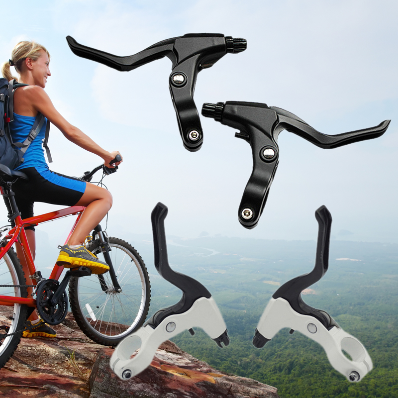 Aluminum Alloy Mountain Bicycle Handle Bike Brake Levers Caliper Gear Set 1 PAIR