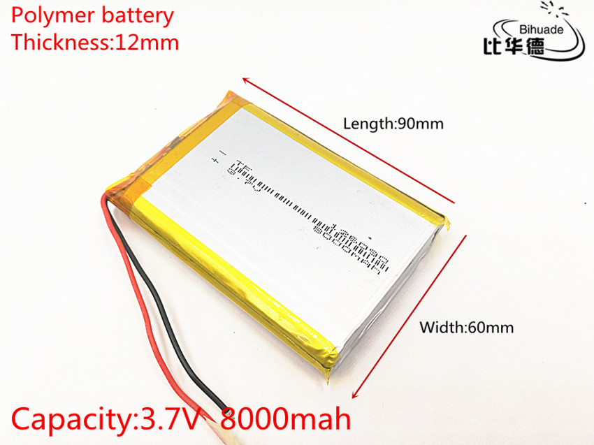 126090 3.7 V lithium polymer 8000 mah DIY mobile emergency power charging battery qc2 0 fast charging lithium plate rise high mobile power upgrade board