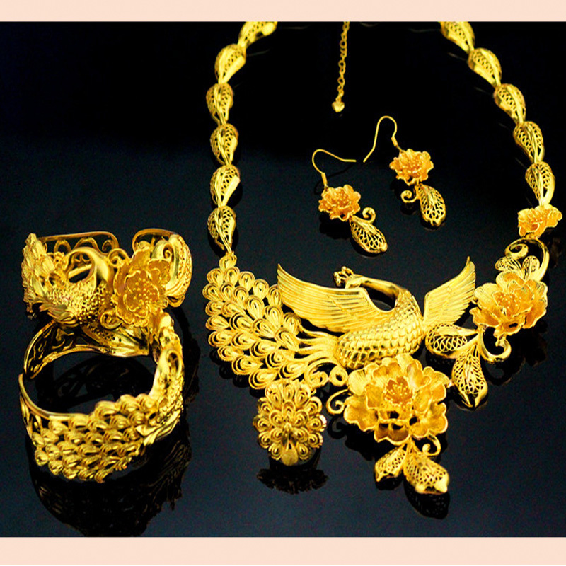 Aliexpress.com : Buy Fashion Bride Luxury Wedding 24 Gold