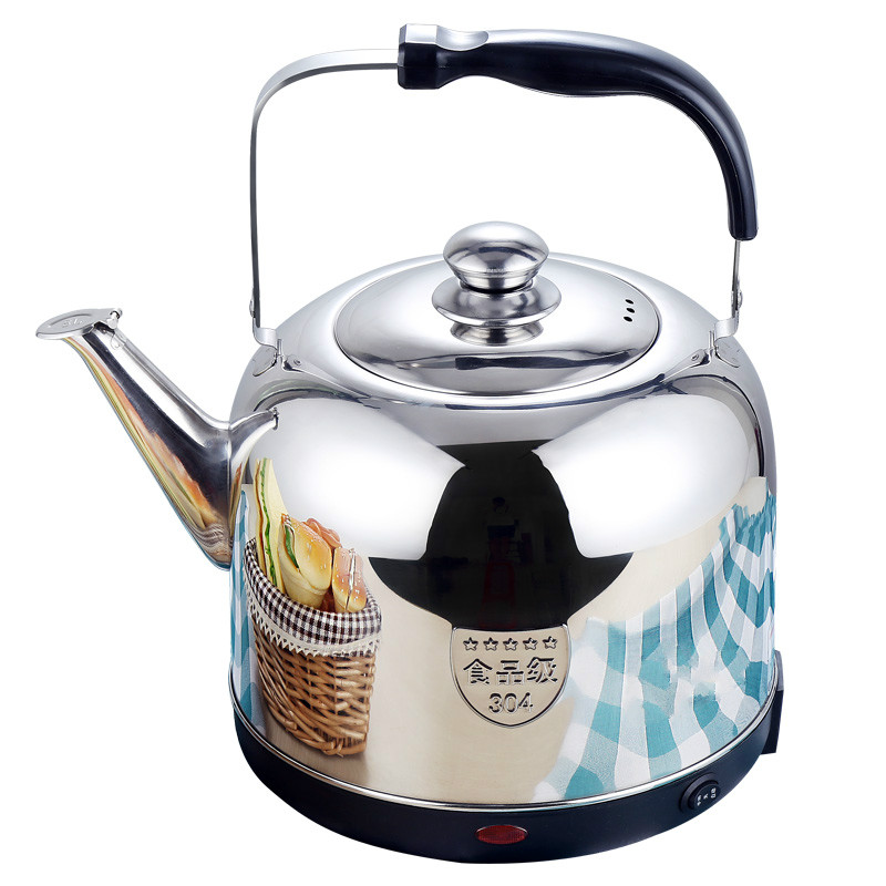 Electric kettle Full automatic electric 304 stainless steel large capacity open electric kettle 304 stainless steel kettles large capacity open