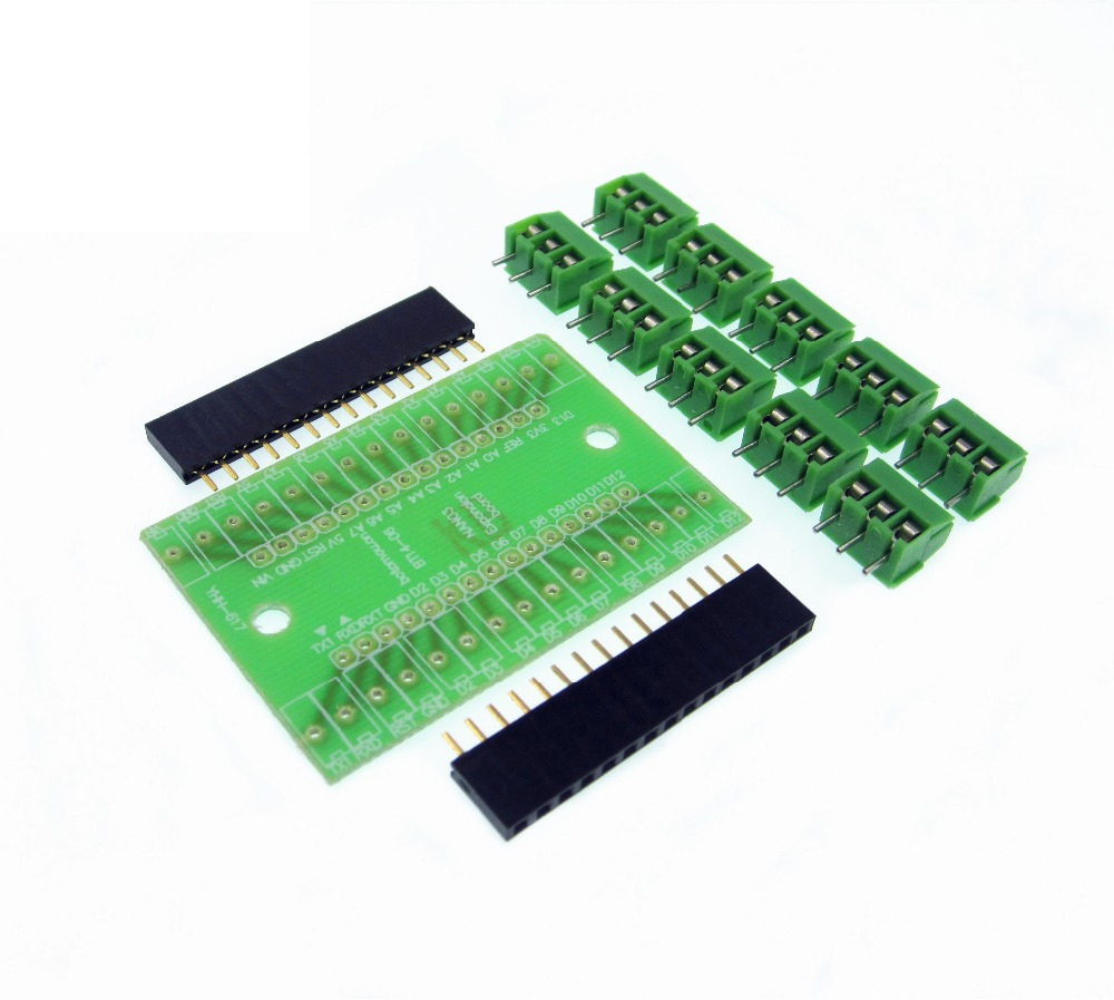 1set NANO 3.0 controller Terminal Adapter for NANO terminal expansion board for Nano version 3.0 in stock nano uno shield adapter nano development board for arduino