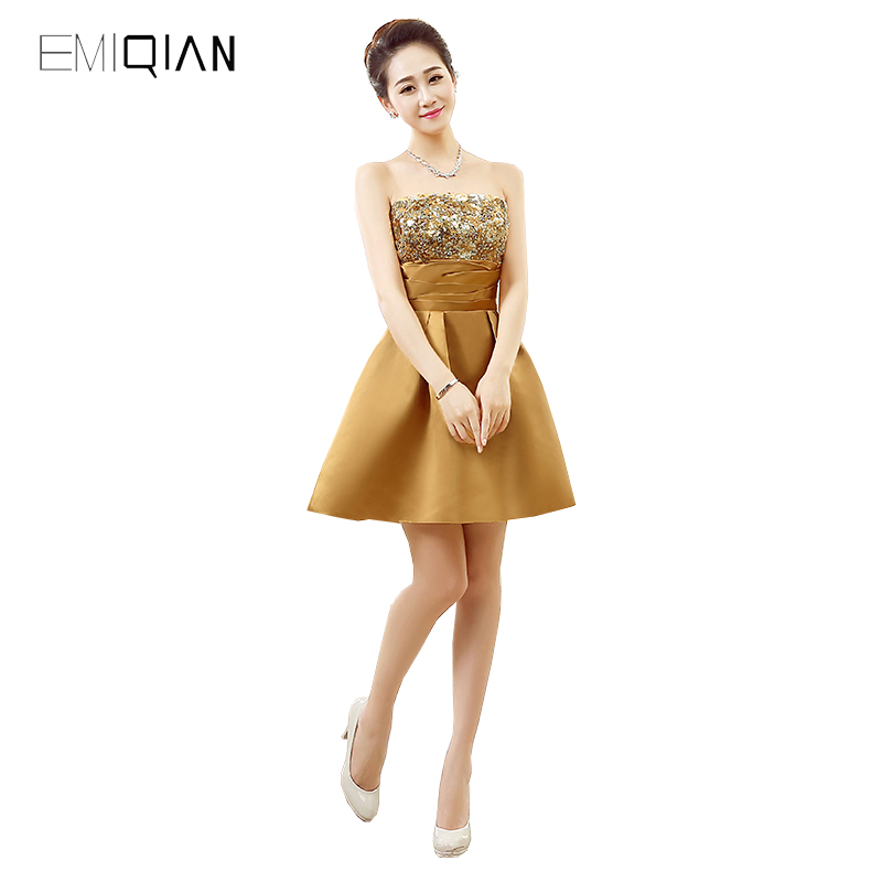 Original Design Homecoming   Dress   A Line Strapless Mini   Cocktail     Dresses