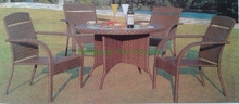 new pe rattan garden furniture set