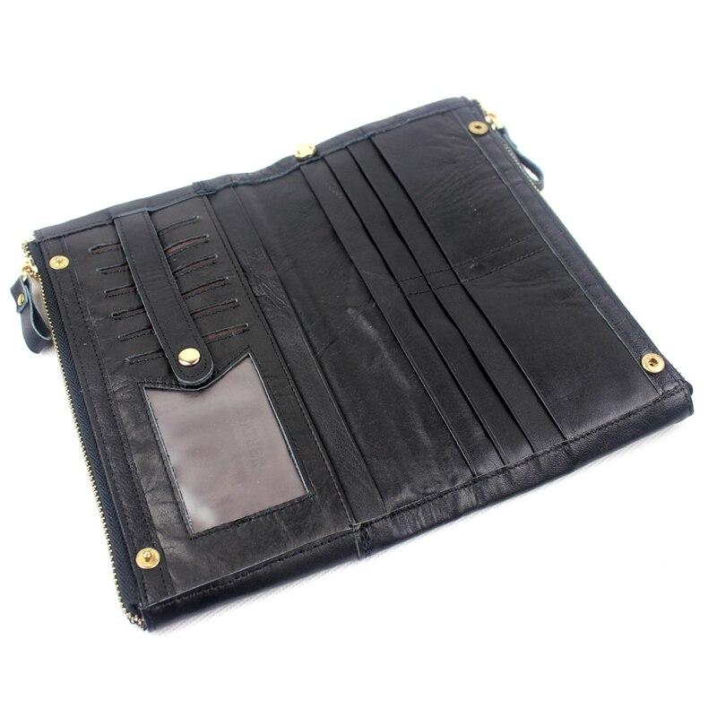 mva genuína carteiras de couro Shape 2 : Wallet Clutch Bag