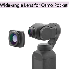 Buy Portable Large Wide Angle Camera Lens for DJI Osmo Pocket Professional HD Magnetic Structure Lens Handheld Gimbal Accessories directly from merchant!