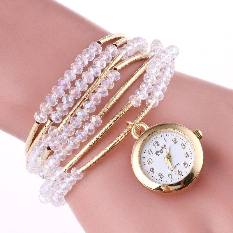 Bohemian Style Creative Watch Women Luxury Gold Jewelry Bracelet Wrist Watches For Women