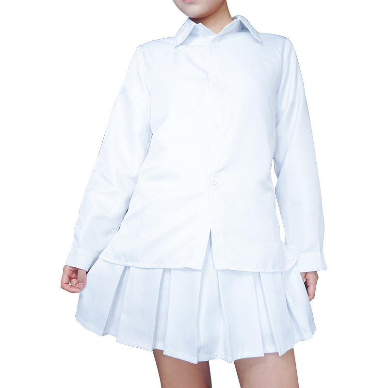 Anime The Promised Neverland Emma Cosplay Costume Yakusoku no Neverland Women School Uniform Halloween Party Dress