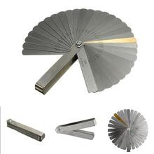 32 лезвия щупа метрических шовный заполнитель 0,04-0,88 мм Толщина измерительный инструмент для автомобилей измерения Толщина инструмент обнаружения